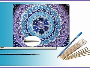 Точечная роспись акрилом - секреты точкования | Ярмарка Мастеров - ручная работа, handmade