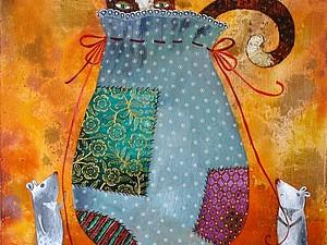Кот в мешке | Ярмарка Мастеров - ручная работа, handmade