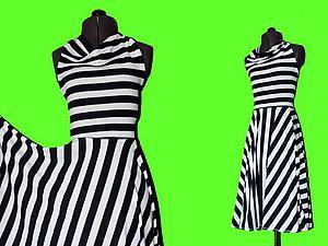 Шьем платье за 10 минут. Ярмарка Мастеров - ручная работа, handmade.
