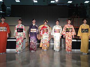 Шоу Кимоно в Текстильном центре Нисидзин в Киото | Ярмарка Мастеров - ручная работа, handmade