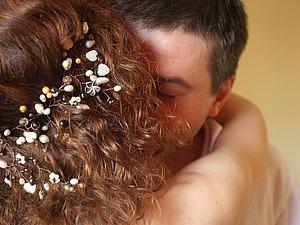 Делаем свадебный аксессуар для волос — винтажную веточку в приданое | Ярмарка Мастеров - ручная работа, handmade