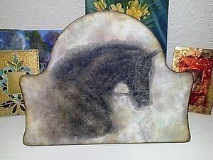 «Дымчатая Вуаль» декупаж, нежные тени акрилом   Ярмарка Мастеров - ручная работа, handmade