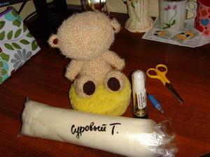 МК создаём мордочку игрушки (сухое валяние). | Ярмарка Мастеров - ручная работа, handmade
