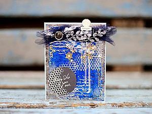 С 22 по 31 декабря - Скидка на новогодние открытки 50% | Ярмарка Мастеров - ручная работа, handmade