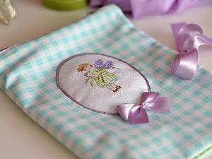 МК Как сшить сумочку-косметичку для путешествий (для белья) | Ярмарка Мастеров - ручная работа, handmade