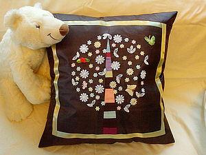 Шьем декоративную подушку «Весеннее дерево». Ярмарка Мастеров - ручная работа, handmade.
