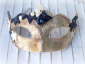 МК венецианская маска | Ярмарка Мастеров - ручная работа, handmade