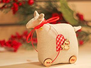 Шьем овечку в стиле Тильда. Ярмарка Мастеров - ручная работа, handmade.