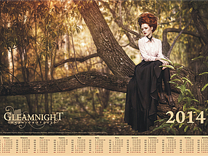 Календарь от Gleamnight fashion-studio 2014 г. | Ярмарка Мастеров - ручная работа, handmade