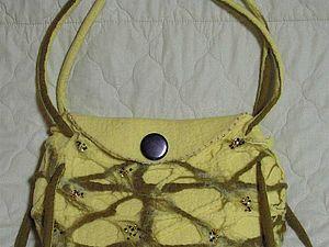 Валяем сами оригинальную сумку. Ярмарка Мастеров - ручная работа, handmade.