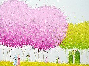 Сказочные деревья Vu Cong Dien | Ярмарка Мастеров - ручная работа, handmade