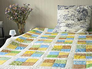 Мастер-класс: шьем несложное лоскутное одеяло. Ярмарка Мастеров - ручная работа, handmade.