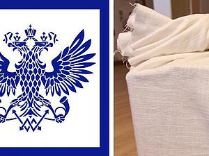 Как сшить и подписать мешок для почтовой отправки. Ярмарка Мастеров - ручная работа, handmade.