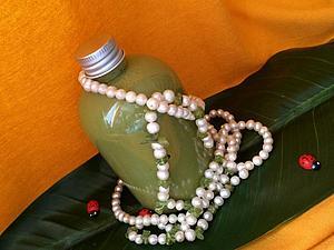 Зеленый бальзам-кондиционер-маска для волос против перхоти. Актив СЕБАРИЛ. | Ярмарка Мастеров - ручная работа, handmade