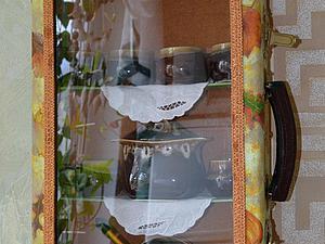 Старый чемоданчик превращается... в оригинальную полку. Ярмарка Мастеров - ручная работа, handmade.