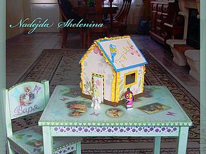 Домик для кукол - в подарок ! | Ярмарка Мастеров - ручная работа, handmade
