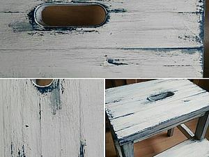 Мастерская (workshop) по декору мебели. Стильный табурет! | Ярмарка Мастеров - ручная работа, handmade