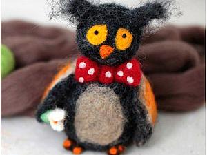 Мастер-класс по валянию игрушки! | Ярмарка Мастеров - ручная работа, handmade