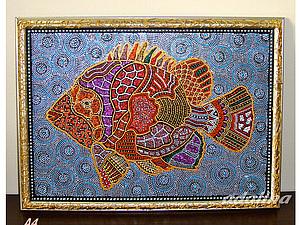 Роспись панно - Point-to-point   Ярмарка Мастеров - ручная работа, handmade