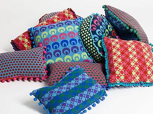 Текстильный интерьер от Deryn Relph | Ярмарка Мастеров - ручная работа, handmade