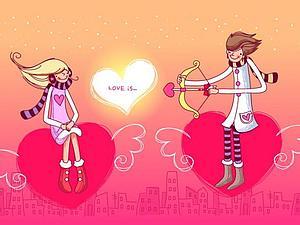 С днем всех влюбленных!!!   Ярмарка Мастеров - ручная работа, handmade