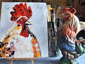 Некоторые приемы рисования мастихином | Ярмарка Мастеров - ручная работа, handmade