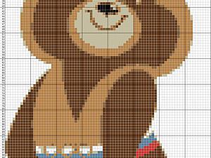 Мастер-класс: перевод картинки в схему для вязания | Ярмарка Мастеров - ручная работа, handmade