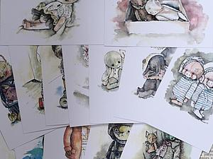 Наборы открыток   Ярмарка Мастеров - ручная работа, handmade