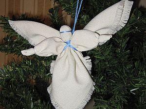Текстильный ангел | Ярмарка Мастеров - ручная работа, handmade