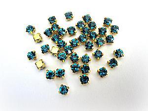 Мелкие кристаллы в оправах.   Ярмарка Мастеров - ручная работа, handmade