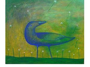 Небольшой  отрывок  из  мк. Синяя  птица. | Ярмарка Мастеров - ручная работа, handmade