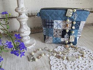 Шьем сумочку-косметичку   Ярмарка Мастеров - ручная работа, handmade