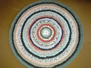 вязание ковриков | Ярмарка Мастеров - ручная работа, handmade