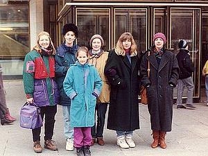 Это были лихие 90-е, мы одевались как могли   Ярмарка Мастеров - ручная работа, handmade