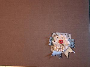Создаем скрап цветок. Ярмарка Мастеров - ручная работа, handmade.