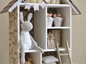 Делаем домик для Толика | Ярмарка Мастеров - ручная работа, handmade