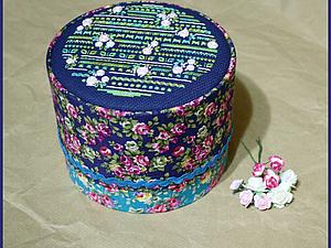 Делаем тканевую шкатулку с вышивкой | Ярмарка Мастеров - ручная работа, handmade