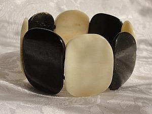 Гармония: черный / белый цвет в элегантных украшениях из моего магазина.   Ярмарка Мастеров - ручная работа, handmade