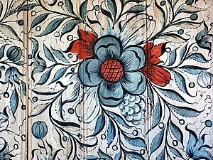 Росемалинг — норвежская цветочная живопись. Ярмарка Мастеров - ручная работа, handmade.