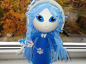 Мастер-класс по фоамирану. Куклы из фоамирана. | Ярмарка Мастеров - ручная работа, handmade