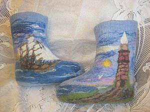 Рекомендации по подбору валяной обуви. Ярмарка Мастеров - ручная работа, handmade.
