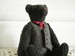 Выкройка винтажного мишки тедди Ричарда | Ярмарка Мастеров - ручная работа, handmade