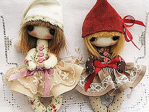 Новости о МК куколки-брошки | Ярмарка Мастеров - ручная работа, handmade