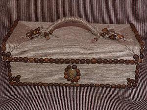 Мастерим короб для рукоделия | Ярмарка Мастеров - ручная работа, handmade