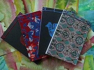 МК Блокнот Японский переплет | Ярмарка Мастеров - ручная работа, handmade