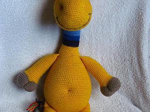 Мастер-класс: «Радужный жирафчик» крючком. Ярмарка Мастеров - ручная работа, handmade.