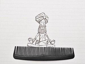 Забавные иллюстрации Kristian Mensa: творческий взгляд на обычные вещи. Ярмарка Мастеров - ручная работа, handmade.