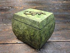 Шкатулка «Уральские сказы» - имитация натурального камня! | Ярмарка Мастеров - ручная работа, handmade