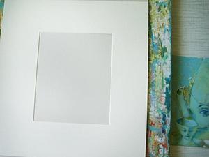 Как выглядят картины в паспарту. | Ярмарка Мастеров - ручная работа, handmade