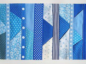 Способ сшивания лоскутков № 2 .. Ярмарка Мастеров - ручная работа, handmade.